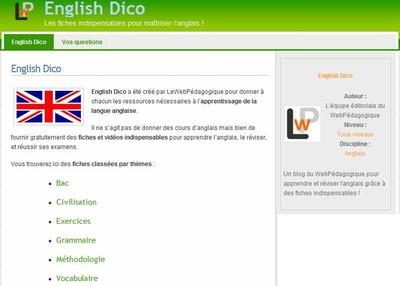 English_dico